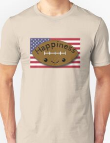 Happiness - Football T-Shirt