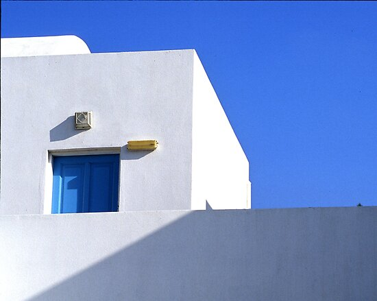 Mykenos window and wall by fauselr