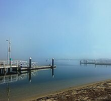 Misty morning at Werribee South Beach - Vic by EdsMum