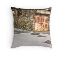 street corner Throw Pillow