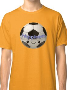 Happiness - Football (soccer) Classic T-Shirt