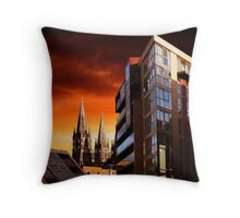 Sunset In Cork Throw Pillow