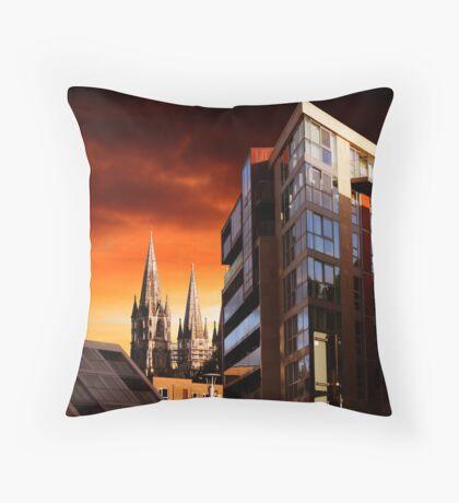 Sunset In Cork Throw Pillow