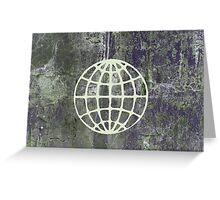 WRITINGS ON THE WALL Greeting Card