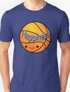 Happiness - Basketball T-Shirt