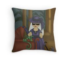 Southern Gothic by Mythic Fairy Art Throw Pillow