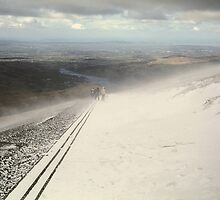 Snowdon at Easter 10 by Frederick Wood