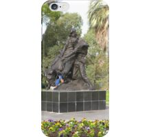 Anzac Memorial & Sculptures Gardens, Adelaide C.B.D. Sth. Aust. iPhone Case/Skin
