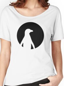 Penguin moon Women's Relaxed Fit T-Shirt