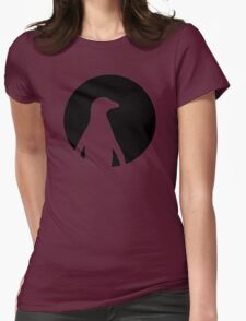 Penguin moon Womens Fitted T-Shirt