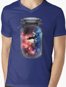 Found in Space Mens V-Neck T-Shirt