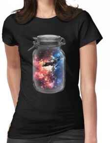 Found in Space Womens Fitted T-Shirt