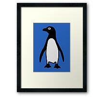 Penguin bird Framed Print