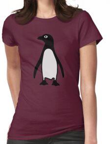 Penguin bird Womens Fitted T-Shirt