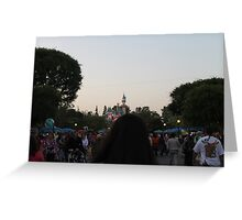Dreaming on Main Street Greeting Card
