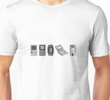 The Timeline Of The Gameboy! Unisex T-Shirt