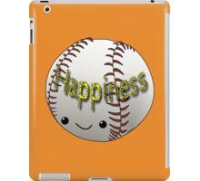 Happiness - Baseball iPad Case/Skin