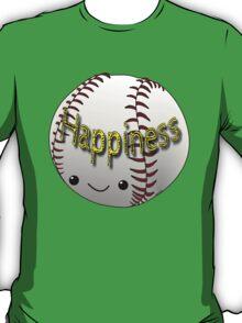 Happiness - Baseball T-Shirt