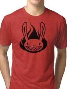 Pyro Rabbit Custom Color Tri-blend T-Shirt