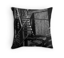 A Light in the Alley Throw Pillow