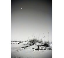 Dune and the Moon Photographic Print