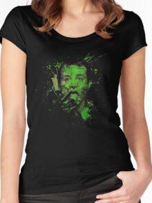 Splatter Venkman Women's Fitted Scoop T-Shirt