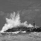 sea waves by Etienne RUGGERI Artwork
