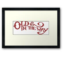 Old & In The Way - Jerry Garcia Framed Print