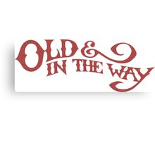 Old & In The Way - Jerry Garcia Canvas Print