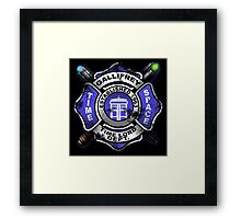 Gallifrey Firehouse Framed Print