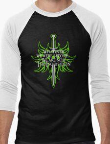 The Inquisition Men's Baseball ¾ T-Shirt