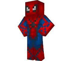 Spiderman - MINECRAFT STYLE!!! by quikdraw