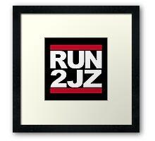 RUN 2JZ Framed Print