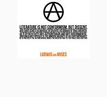 Ludwig von Mises Dissent Libertarian Revolution Literature Unisex T-Shirt