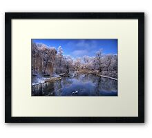 A moment frozen in time... Framed Print