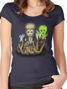Eduardo Scissor Tentacles Women's Fitted Scoop T-Shirt