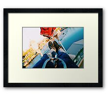 Silly Symphony Swings Framed Print