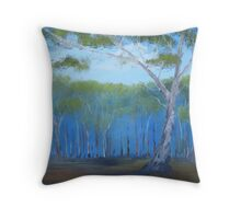 Australian Outback Throw Pillow