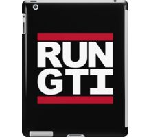 RUN GTI iPad Case/Skin