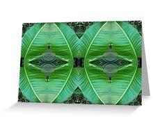 Big leaf shields Greeting Card