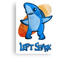 Left Shark Cartoon Stylized Canvas Print