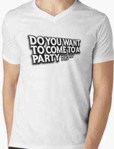 Party Mens V-Neck T-Shirt