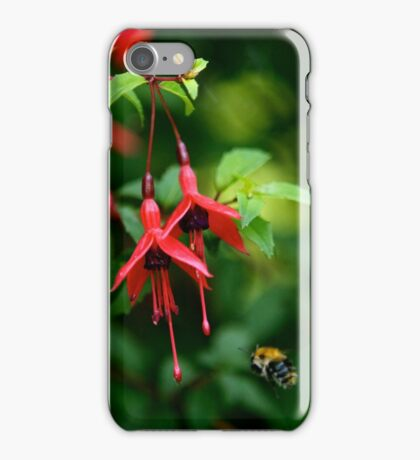 Wild Fuchsia at Loch Na Fooey (tall) iPhone Case/Skin