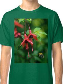 Wild Fuchsia at Loch Na Fooey (tall) Classic T-Shirt