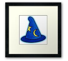 Mickey's Glowing Fantasia Hat Framed Print