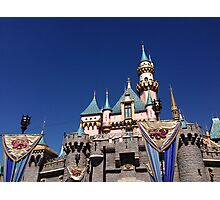 Sleeping Beauty Castle Photographic Print