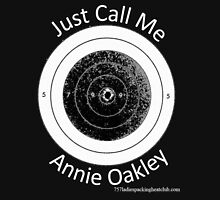 Annie get your gun Womens Fitted T-Shirt