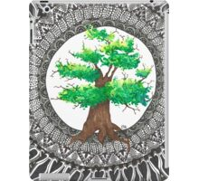 Watercolor and ink Mandala Tree iPad Case/Skin