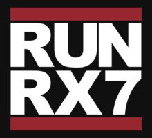 RUN RX7 T-Shirt