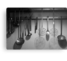 Cuisinery Metal Print